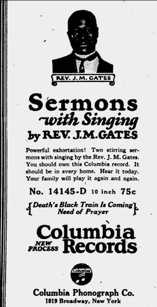 Superstar Reverend J. M. Gates and Working Class Black Uplift