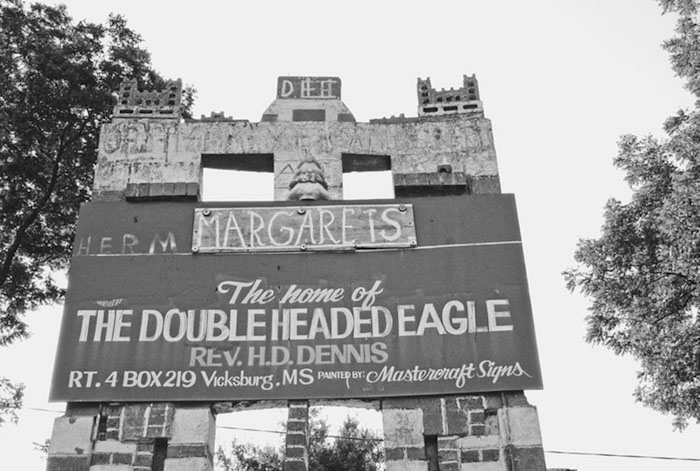 Home of the Double-Headed Eagle: The Visionary Vernacular Architecture of Reverend H.D. Dennis and Margaret Dennis