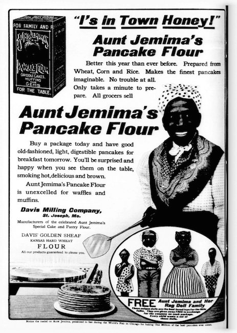 Aunt Jemima Explained: The Old South, the Absent Mistress, and the Slave in a Box