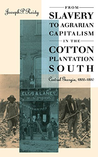 From Slavery to Agrarian Capitalism in the Cotton Plantation South: Central Georgia, 1800-1880 by Joseph P. Reidy (Review)