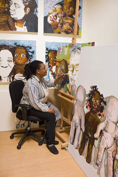 In the Studio: Beverly McIver