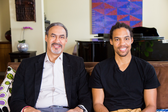 Studio Visit: Phil Freelon and Pierce Freelon