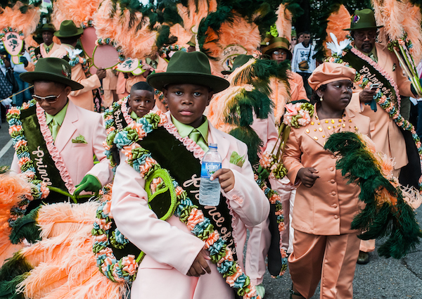 New Orleans Second Line Parades